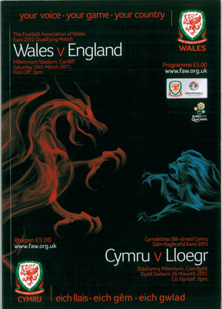 Wales v England: 26 March 2011