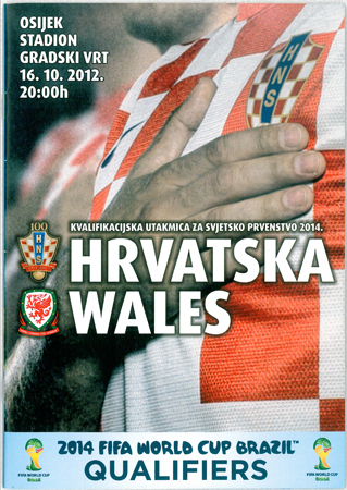 Croatia v Wales: 16 October 2012